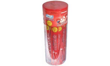 Vidal Strawberry Mega Pencils 40 Pcs